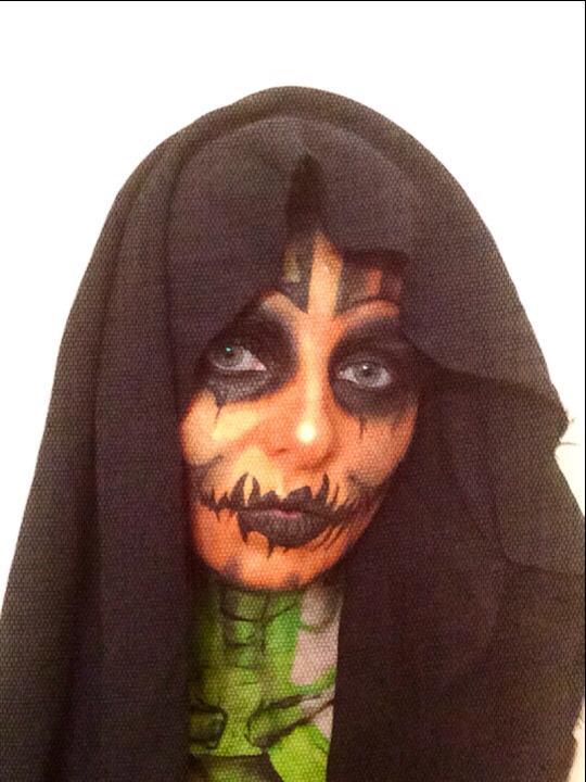 Pumpkin, skull